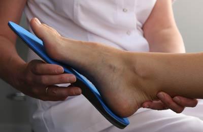 Plantillas para dolor en arco del pie