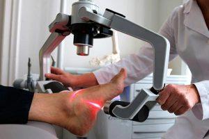 tratamiento del laser del dolor